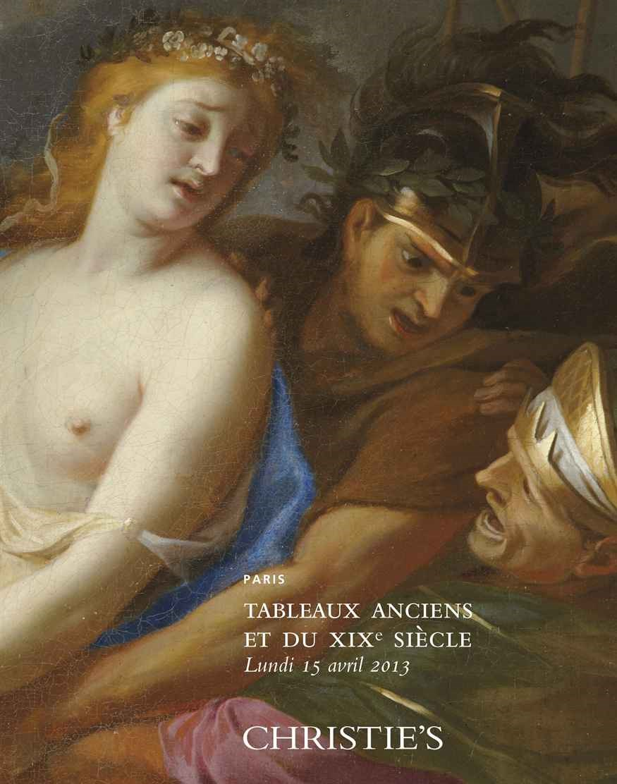 Tableaux Anciens et du XIXe Si auction at Christies