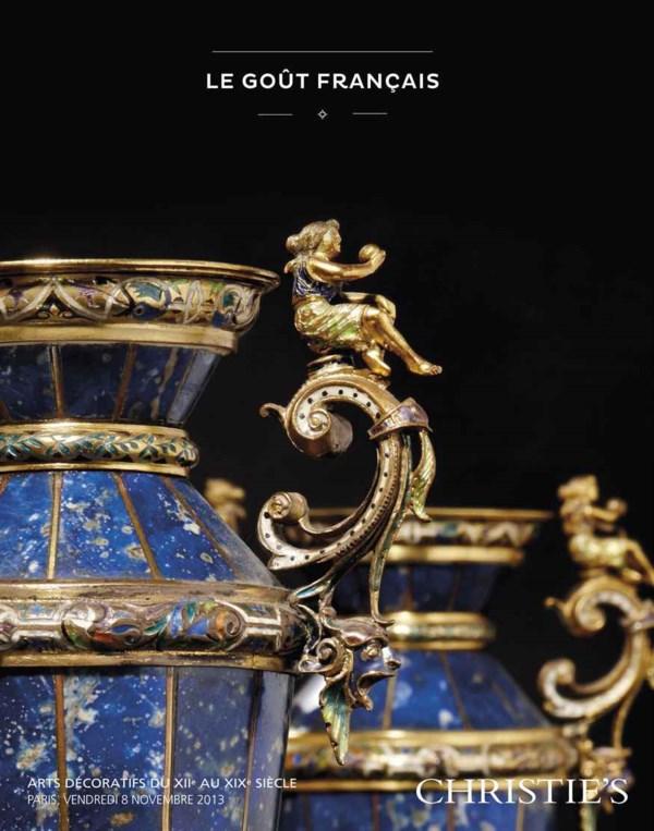 Le goût français  - Arts décor auction at Christies