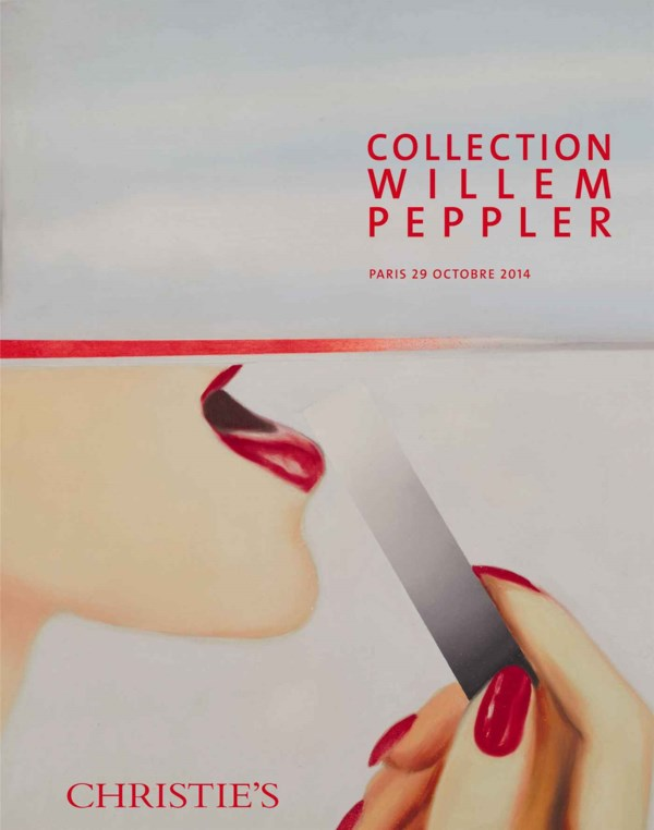 Collection Willem Peppler auction at Christies
