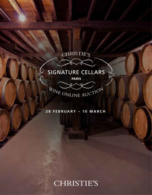 Signature Cellars: Paris Online Only Auction