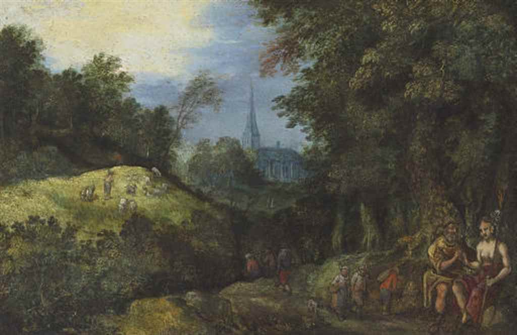 Circle of Jan Breughel the Eld