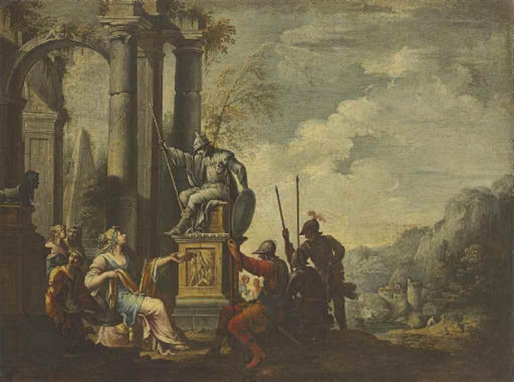 Giovanni Ghisolfi Milan 1623-1