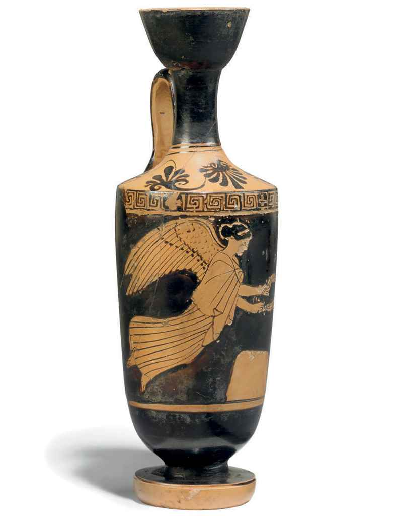 AN ATTIC RED-FIGURE LEKYTHOS