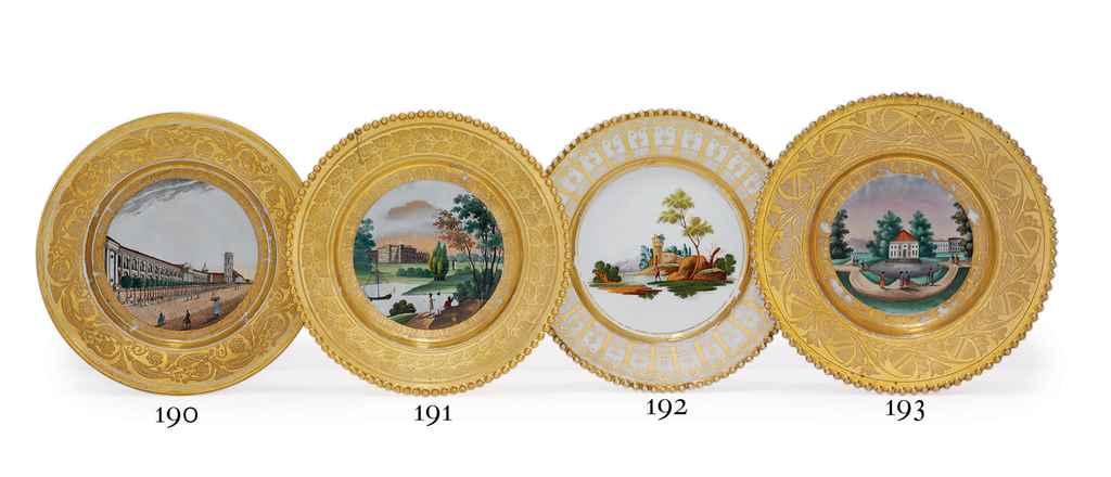 A Porcelain Plate