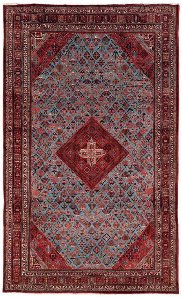 A massive Joshaghan carpet