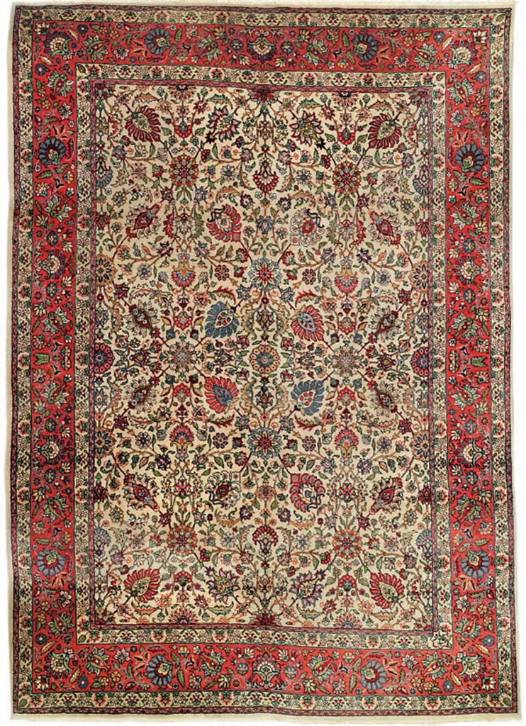 An 'Alibaf' Tabriz carpet