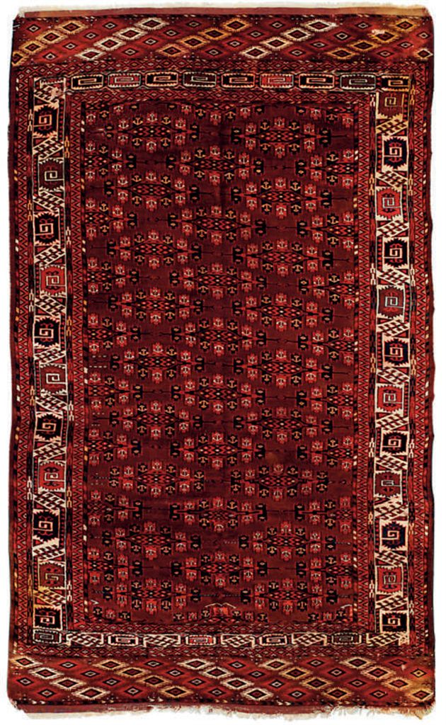 A Yomut carpet