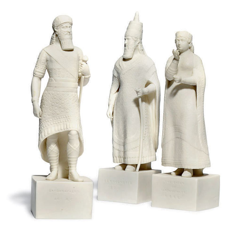 THREE COPELAND PARIAN ASSYRIAN