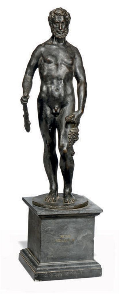 AN ITALIAN BRONZE FIGURE OF HE