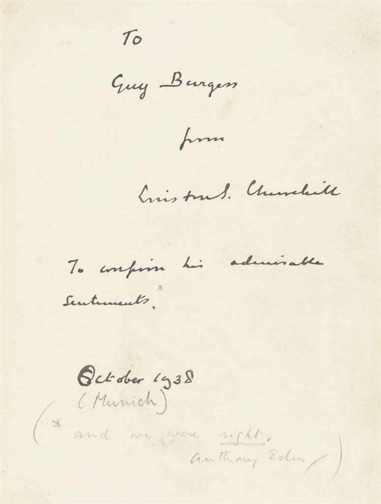 CHURCHILL, Winston S Arms and the Covenant Speeches by Churc...