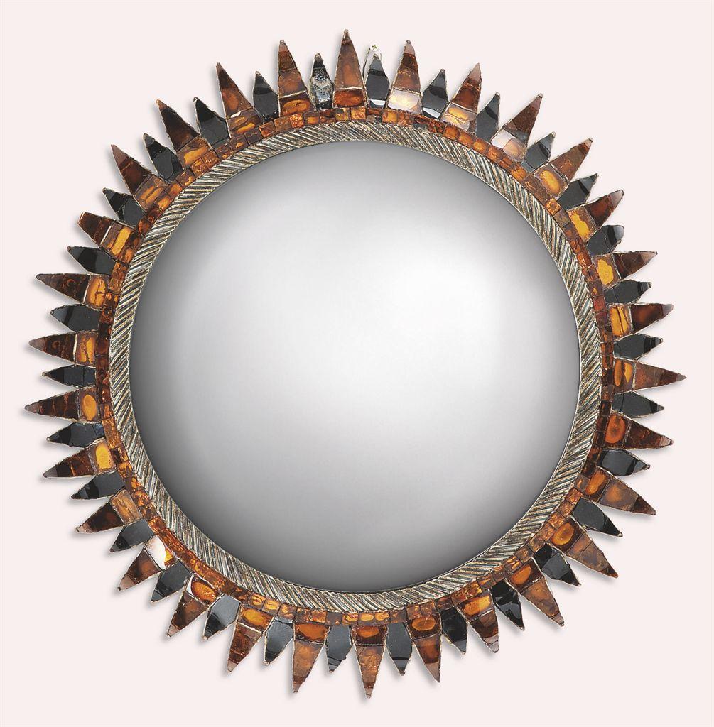 Line vautrin 1913 1997 miroir 39 soleil a pointes 39 vers for Miroir noir watch online