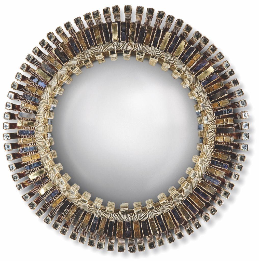 Line vautrin 1913 1997 miroir 39 romain 39 vers 1960 for Miroir sorciere line vautrin