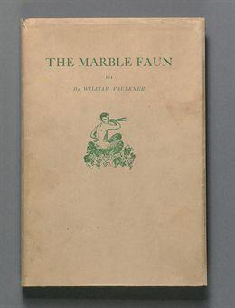 Faulkner William The Marble Faun Boston Four Seas