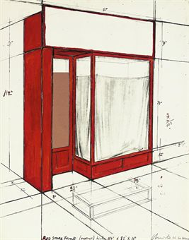 Red Store Front, Project (Schellmann 93)