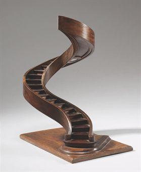 escalier en spirale de maitrise en noyer et palissandre de. Black Bedroom Furniture Sets. Home Design Ideas