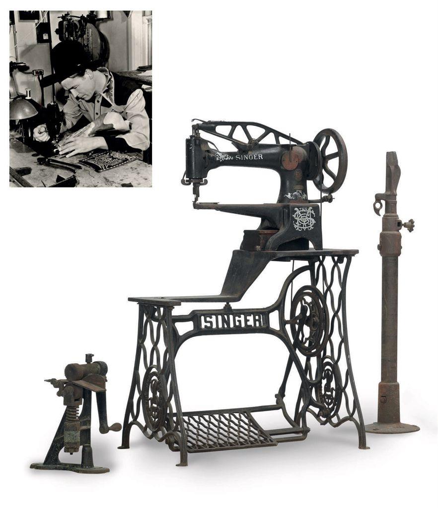 singer sewing machine used