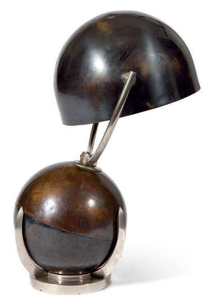 Felix aublet 1903 1978 lampe boule ou lampe mobile for Lampe pipistrello petit modele