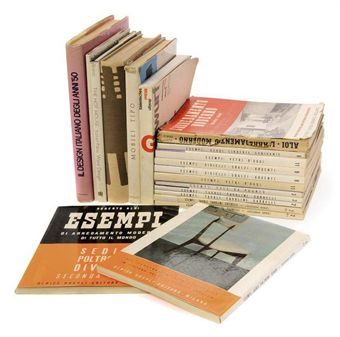 A QUANTITY OF ITALIAN DESIGN SURVEY BOOKS