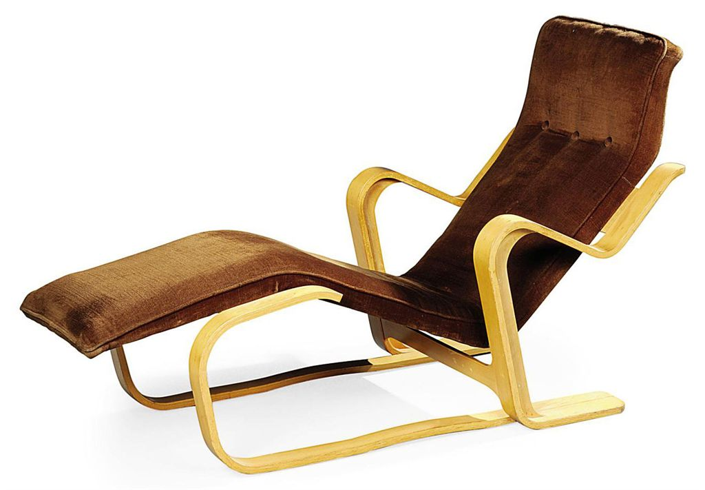 A MARCEL BREUER LONG CHAIR , DESIGNED 1936, EXECUTED 1960S  Christies