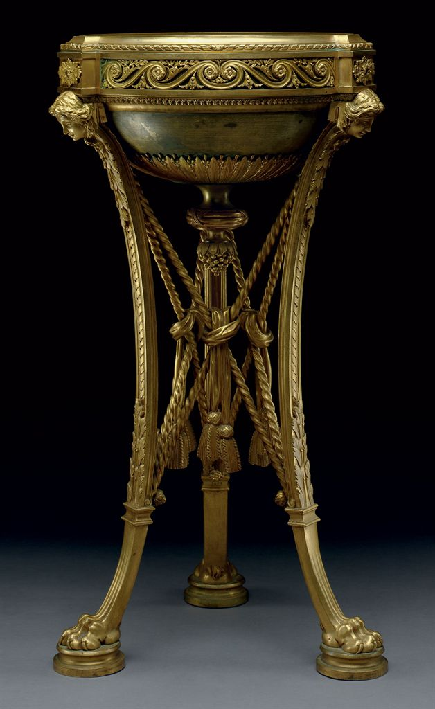 A napoleon iii ormolu and patinated bronze jardiniere by for Jardiniere napoleon 3