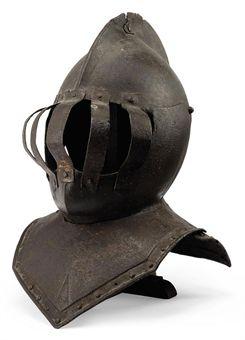 Znalezione obrazy dla zapytania helmet 17 century