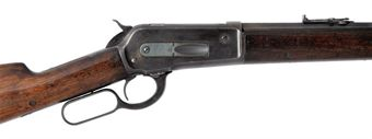 A .45-90 'MODEL 1886' LEVER-ACTION REPEATING BIG GAME RIFLE