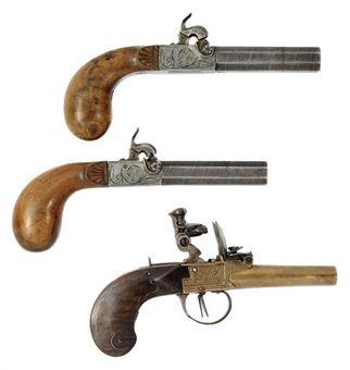spain tower flintlock gun