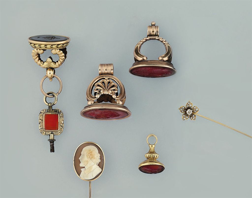 A collection of 19th and early 20th century items