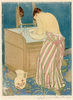 Woman Bathing (La Toilette) (B. 148; M.&S. 10)