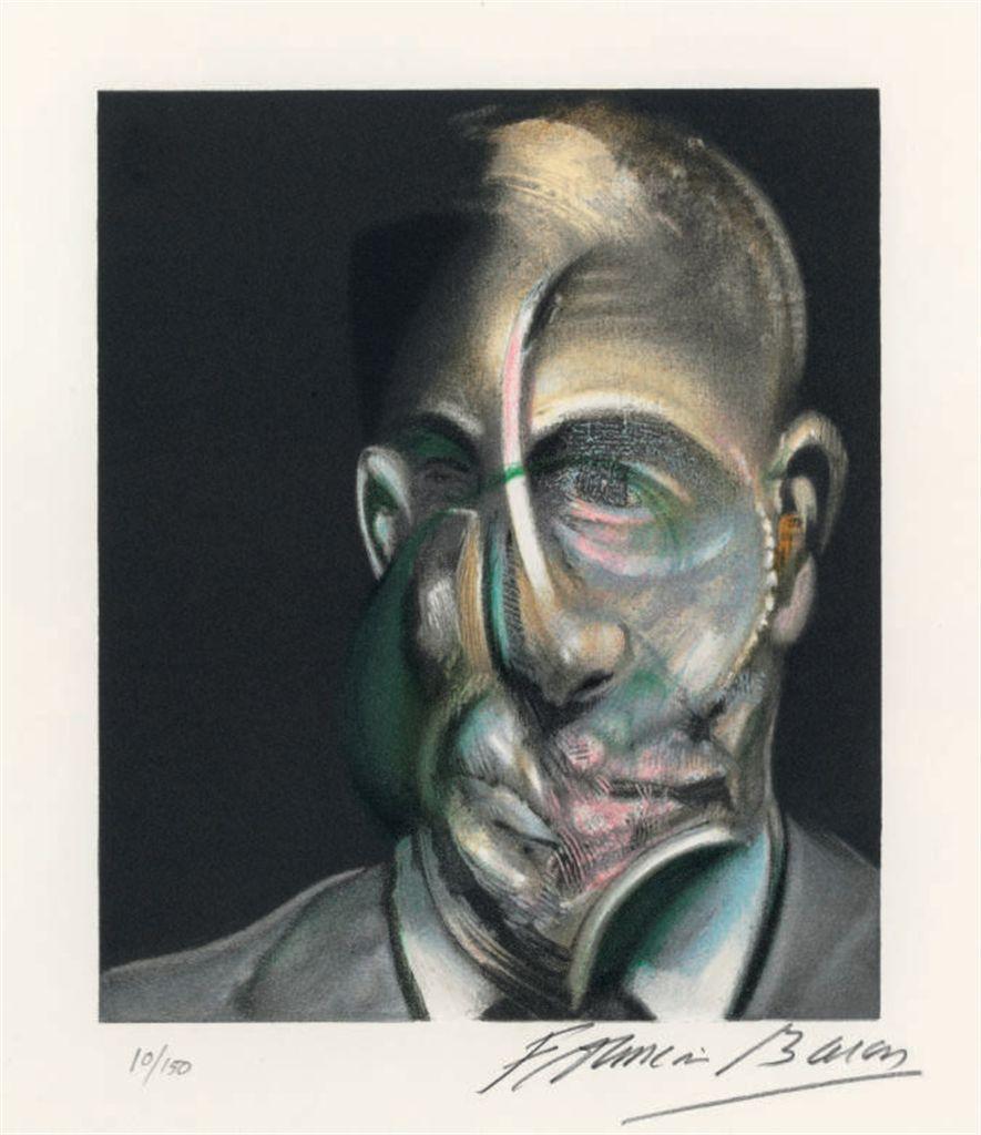 Francis bacon portrait of michel leiris from miroir de for Miroir de la tauromachie