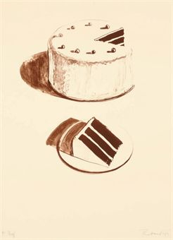 Chocolate Cake, from Seven Still-Lifes and a Rabbit