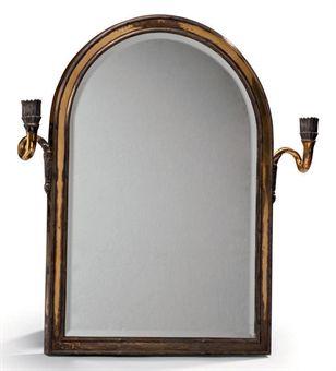 miroir de toilette en vermeil par a aucoc paris debut