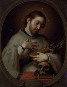 Portrait of Saint Luis Gonzaga