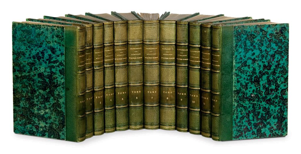 CHATEAUBRIAND, François René, vicomte de (1768-1848) Mémoire...