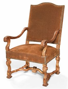 fauteuil d 39 epoque louis xiv. Black Bedroom Furniture Sets. Home Design Ideas