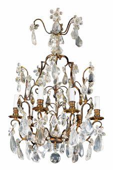 lustre de style louis xv xixeme siecle european furniture works of art auction. Black Bedroom Furniture Sets. Home Design Ideas