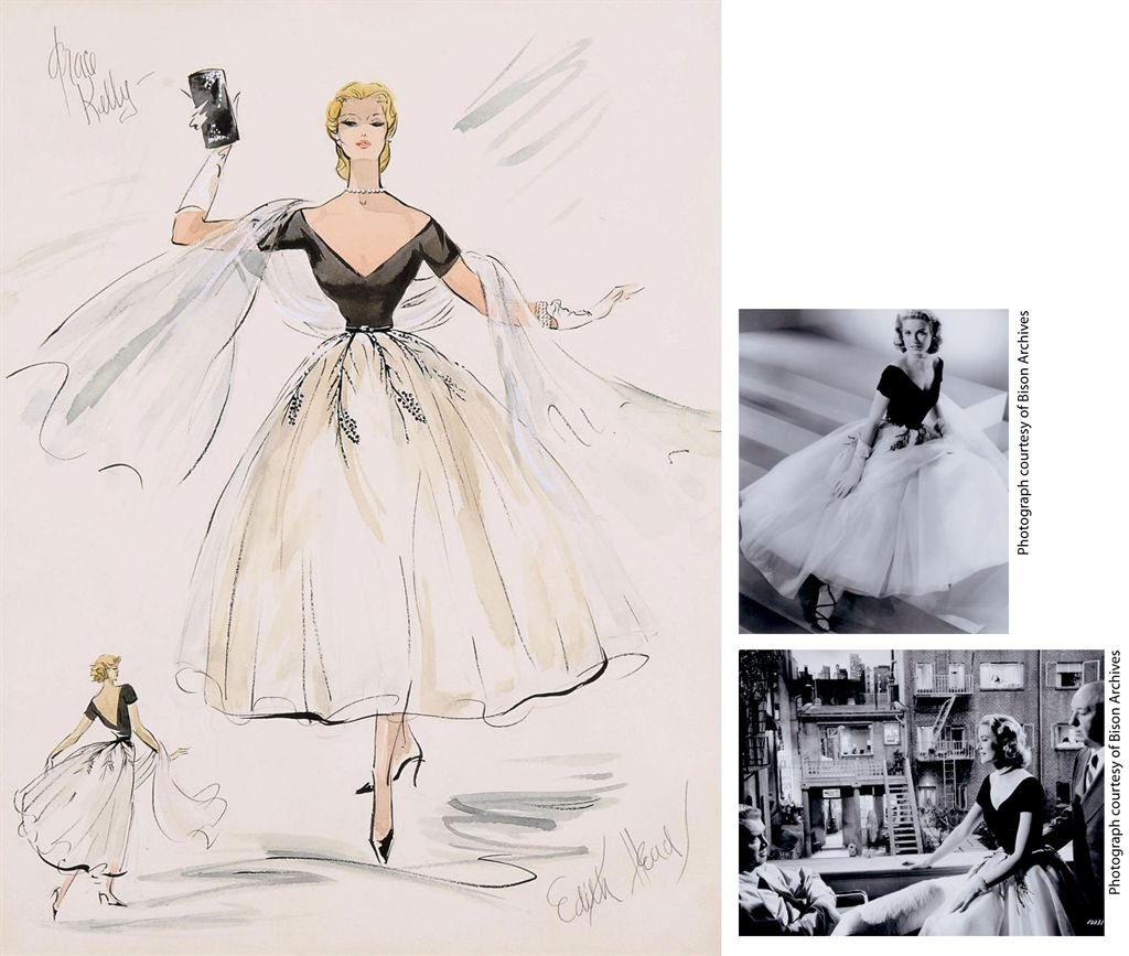 edith head and grace kelly rear window 1954 costumes edith head and grace kelly re