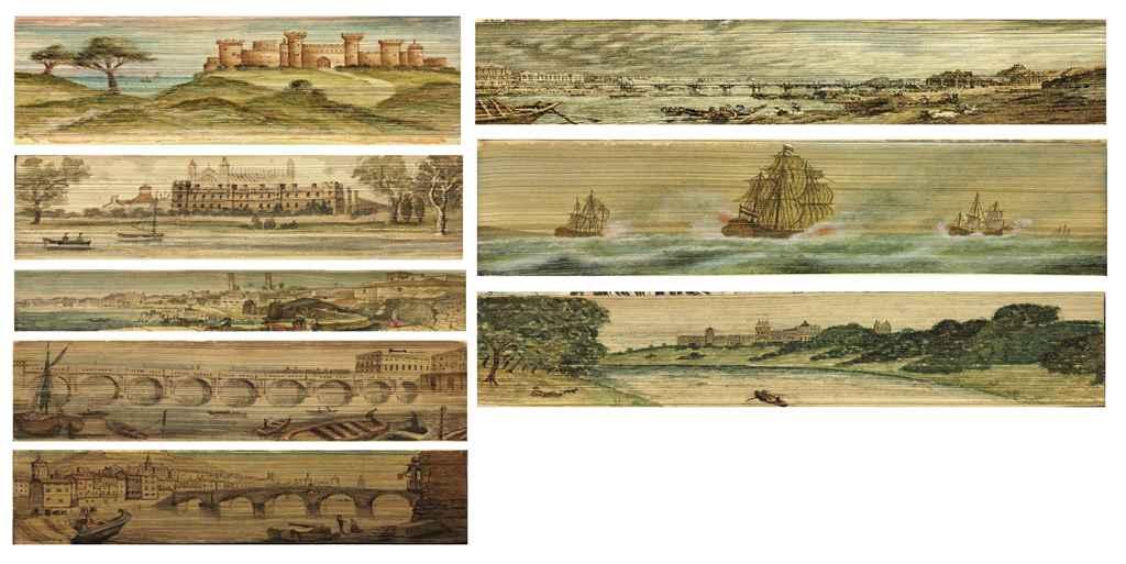 GILPIN *1788* CUMBERLAND WESTMORLAND MOUNTAINS LAKES 2v AQUATINT PLATES Leather
