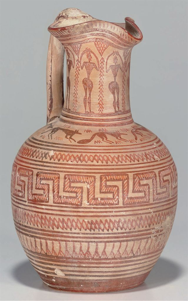 The gallery for ancient greek pottery patterns for Pottery patterns