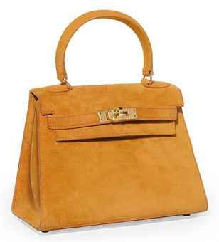 hermes women bags - AN ORANGE SUEDE 'MINI KELLY' BAG   HERM��S, 1994   20th Century ...