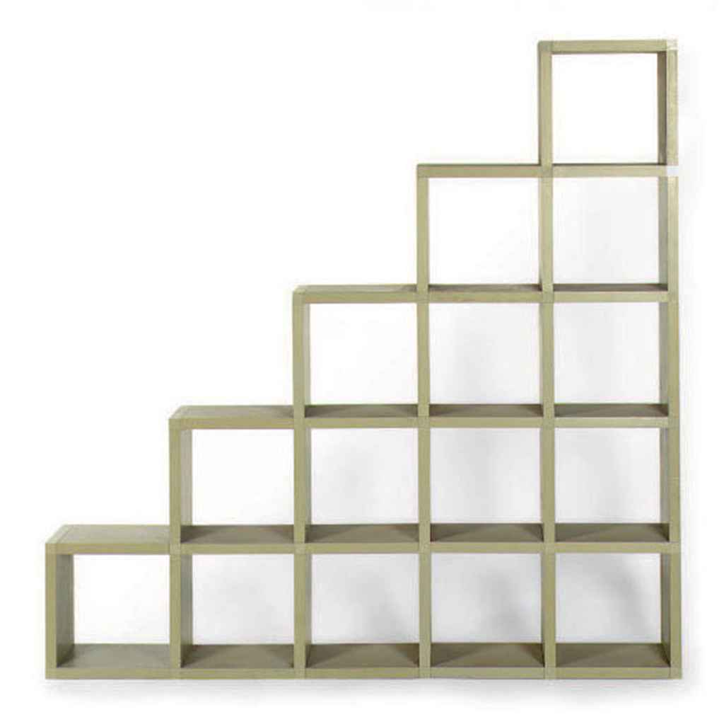 A Modular Bookshelf Designed By Guilio Polvara For