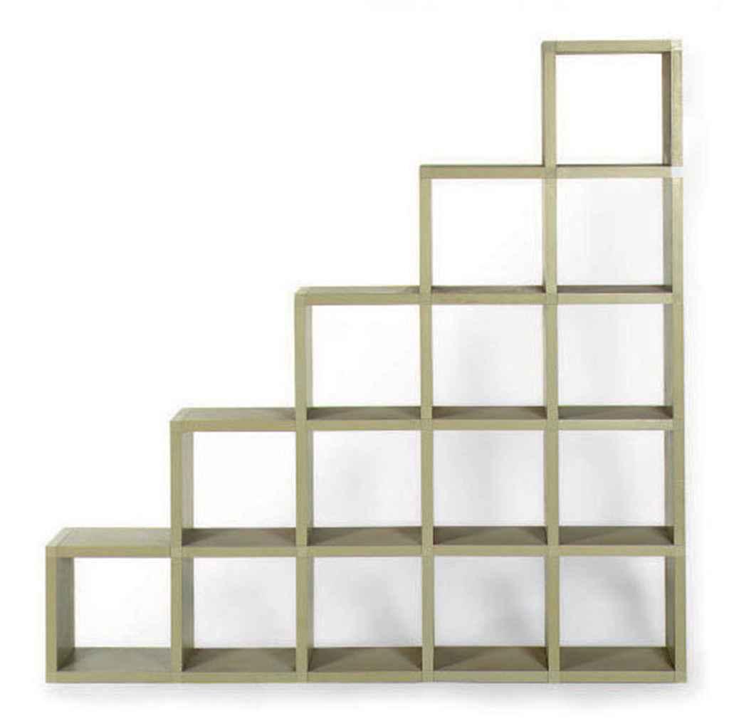 A Modular Bookshelf Designed By Guilio Polvara For Bookcase