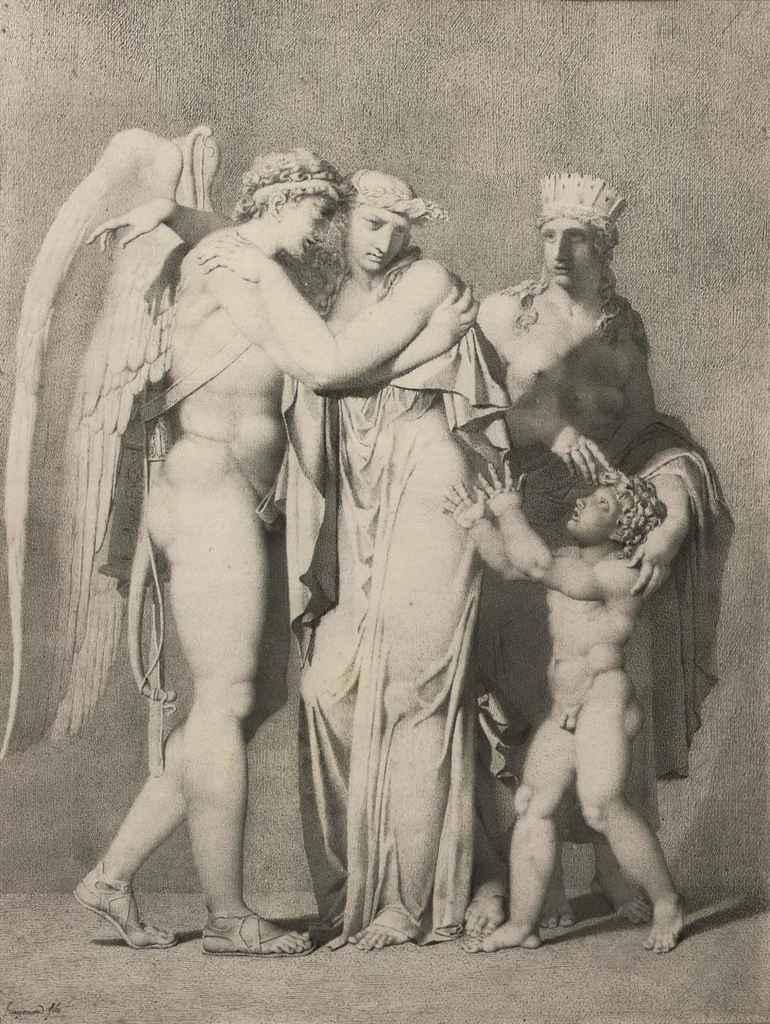 Alexandre Evariste Fragonard (Grasse 1780-1850 Paris)