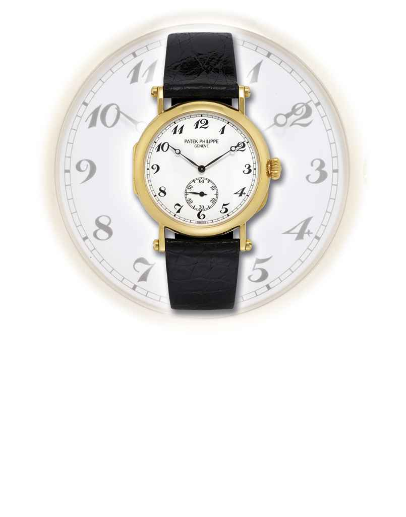 PATEK PHILIPPE, REF 3960J YELLOW GOLD MANUALLY-WOUND OFFI...