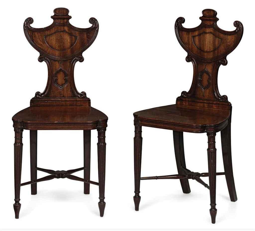Thomas sheraton chair - Lot 1