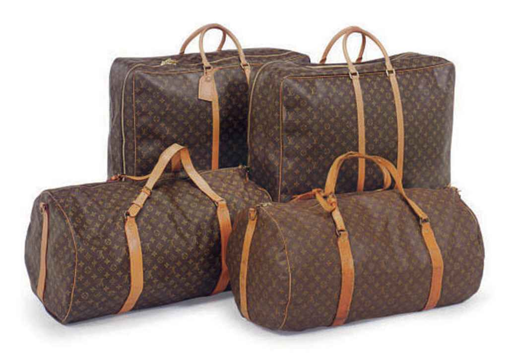 SIX PIECES OF LOUIS VUITTON LU