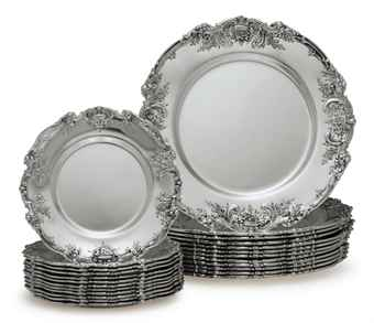 Silver Dining Plates Room Ideas  sc 1 st  ICE-UFT & Silver Dining Plates - Dining room ideas