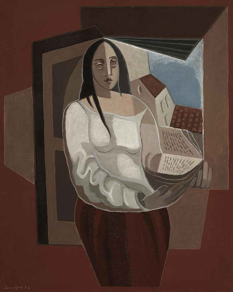 juan gris 1887 1927 la liseuse christie 39 s. Black Bedroom Furniture Sets. Home Design Ideas