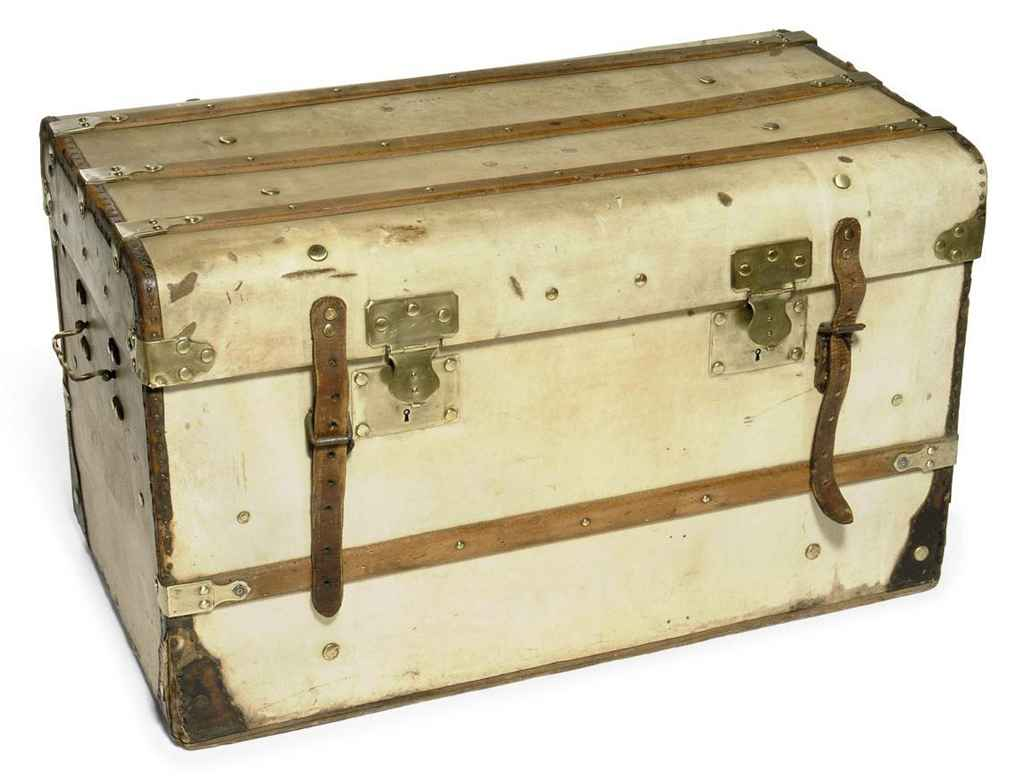 TWO TRAVELLING TRUNKS