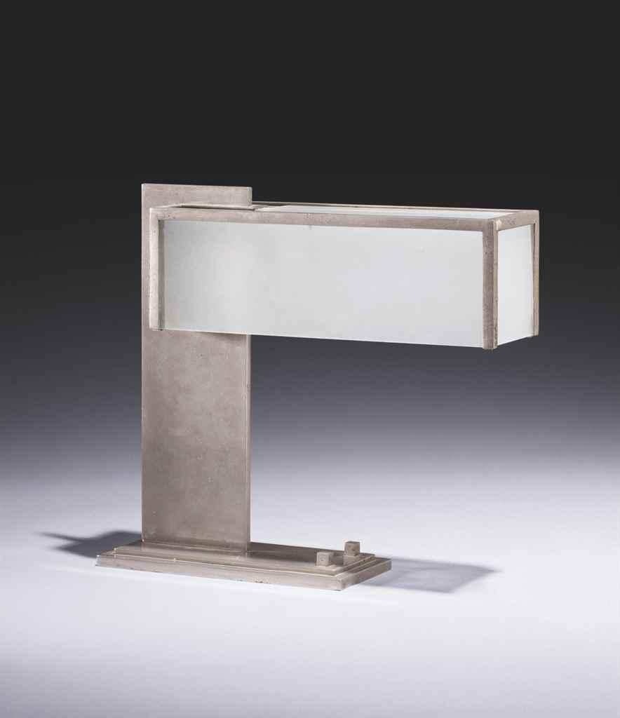 robert mallet stevens 1886 1945 lampe de bureau vers 1930 christie 39 s. Black Bedroom Furniture Sets. Home Design Ideas